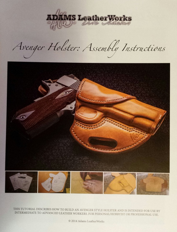 Holster Patterns Pro Edge Burnishers Amazing Holster Patterns